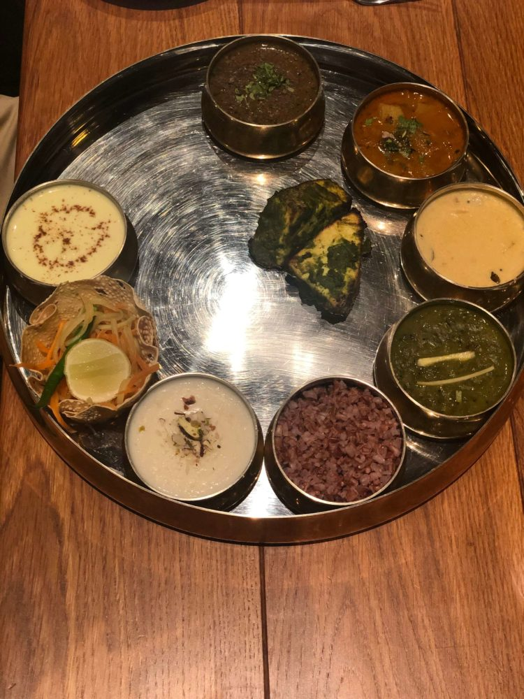 Pahadi Thali at Taj Rishikesh