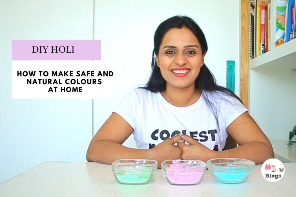 How To Make Safe And Natural Colours At Home - DIY HOLI COLOUR