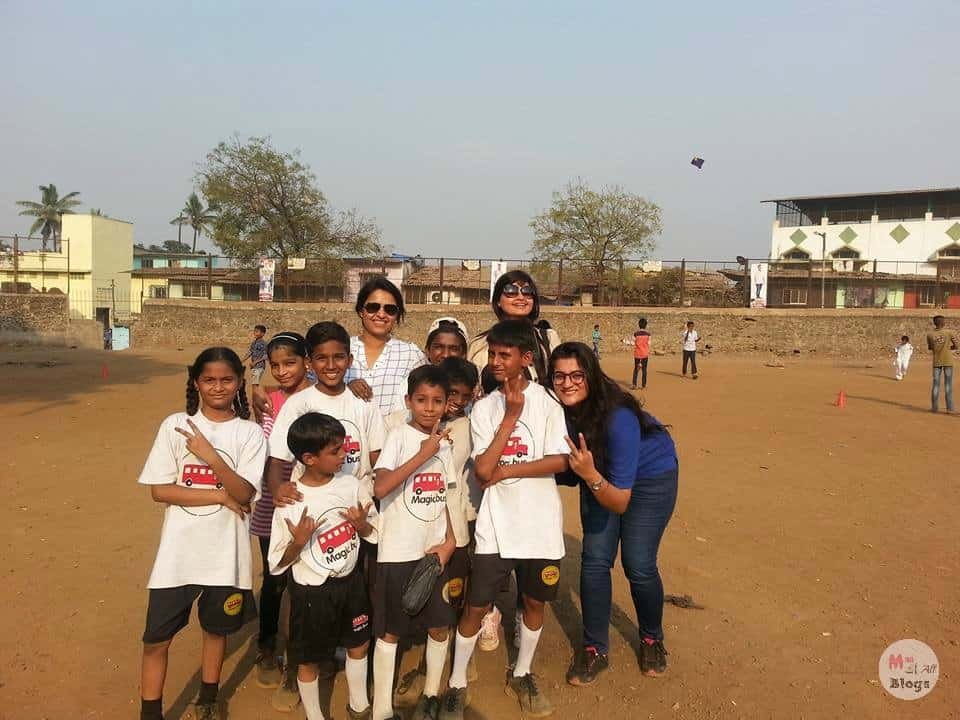 Me At The Mankhurd Healthy Kids Initiative in 2016