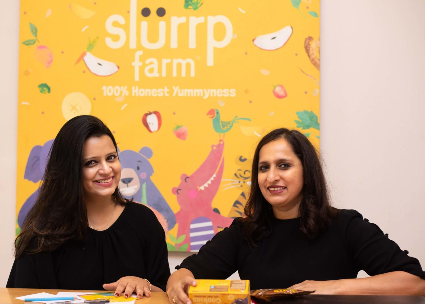 Shauravi & Meghna Co Founders Slurrp Farm