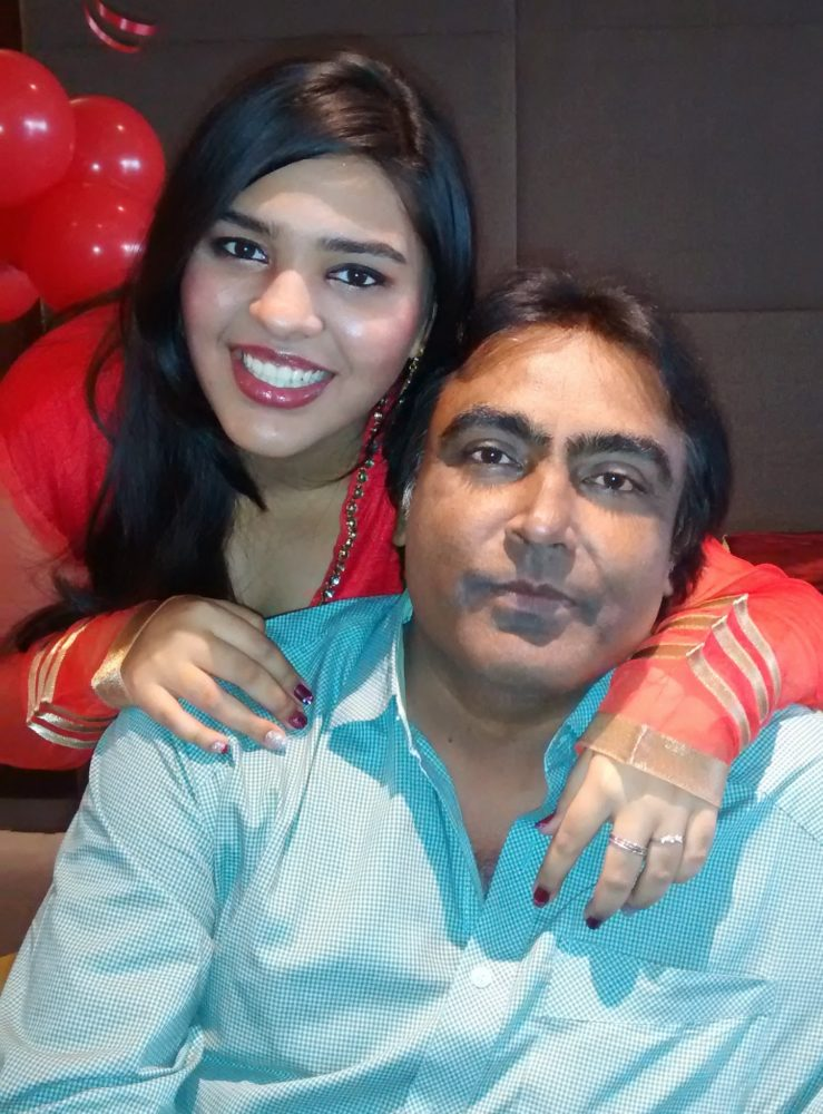 Dhara & her Papa